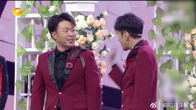 杜海涛带头起哄,让沈梦辰和男搭档亲一个,想得挺开