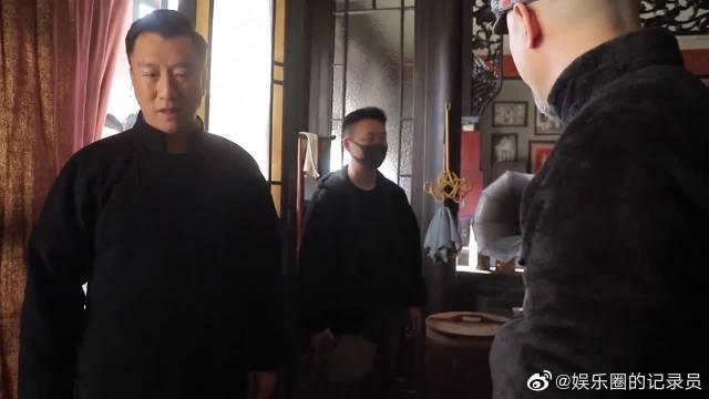 花絮:铁林偷袭金海幕后镜头,孙红雷片场是个狠人?