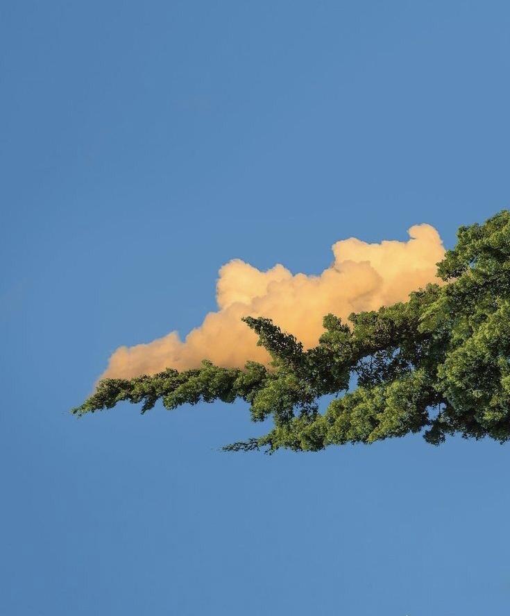 云层的绘画素材 ——(今日摄影)