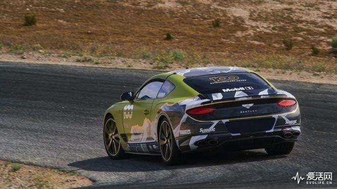 刷爆派克峰脚踢911 宾利欧陆GT成功登顶最速量产车