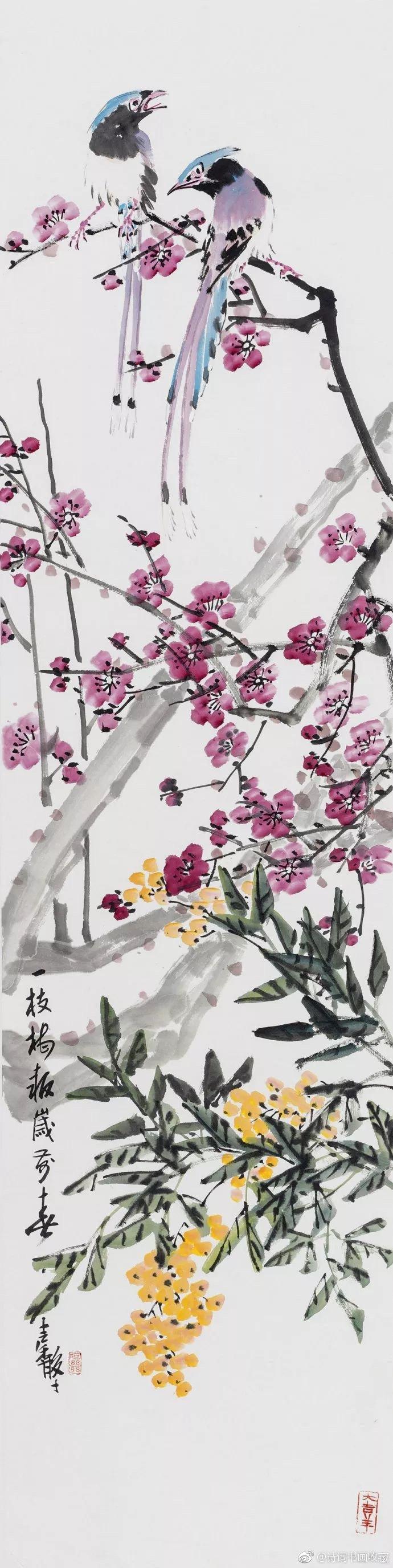 """""""吴门馨风""""张继馨笔下的花鸟、草虫欣赏"""
