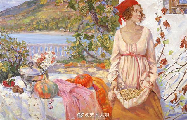 俄罗斯美女艺术家纳塔莉亚油画作品选摘-2