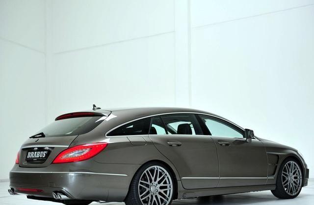 巴博斯CLS级满足日常使用,车是人的伙伴,展示汽车风采!
