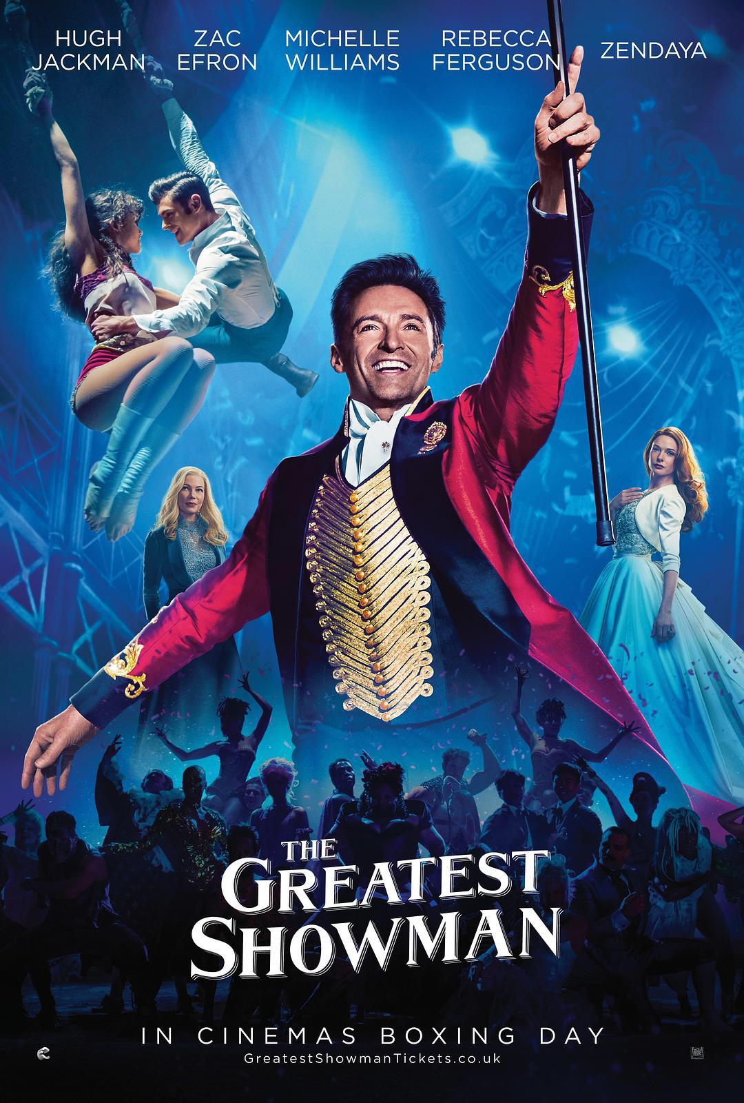 休·杰克曼凭借《马戏之王》原声大碟获得第61届格莱美最佳改编影视音