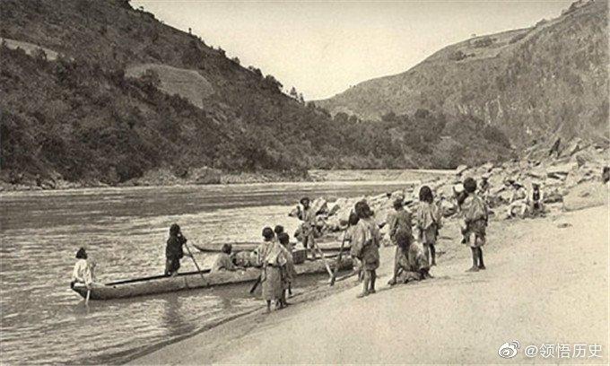 1920年代四川雅砻江畔藏族人