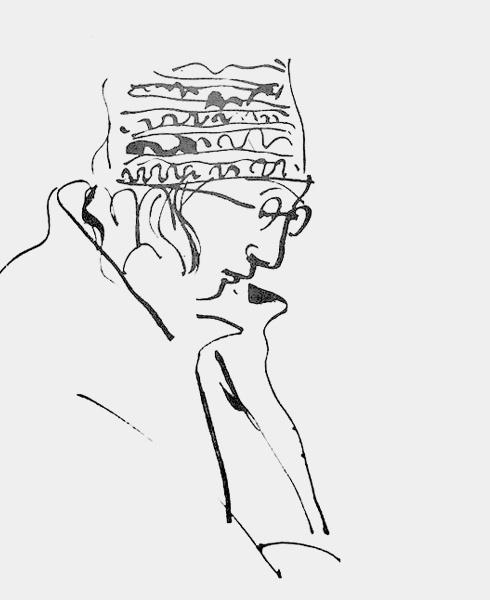 医生画家韦尔乔画在病历单上的作品