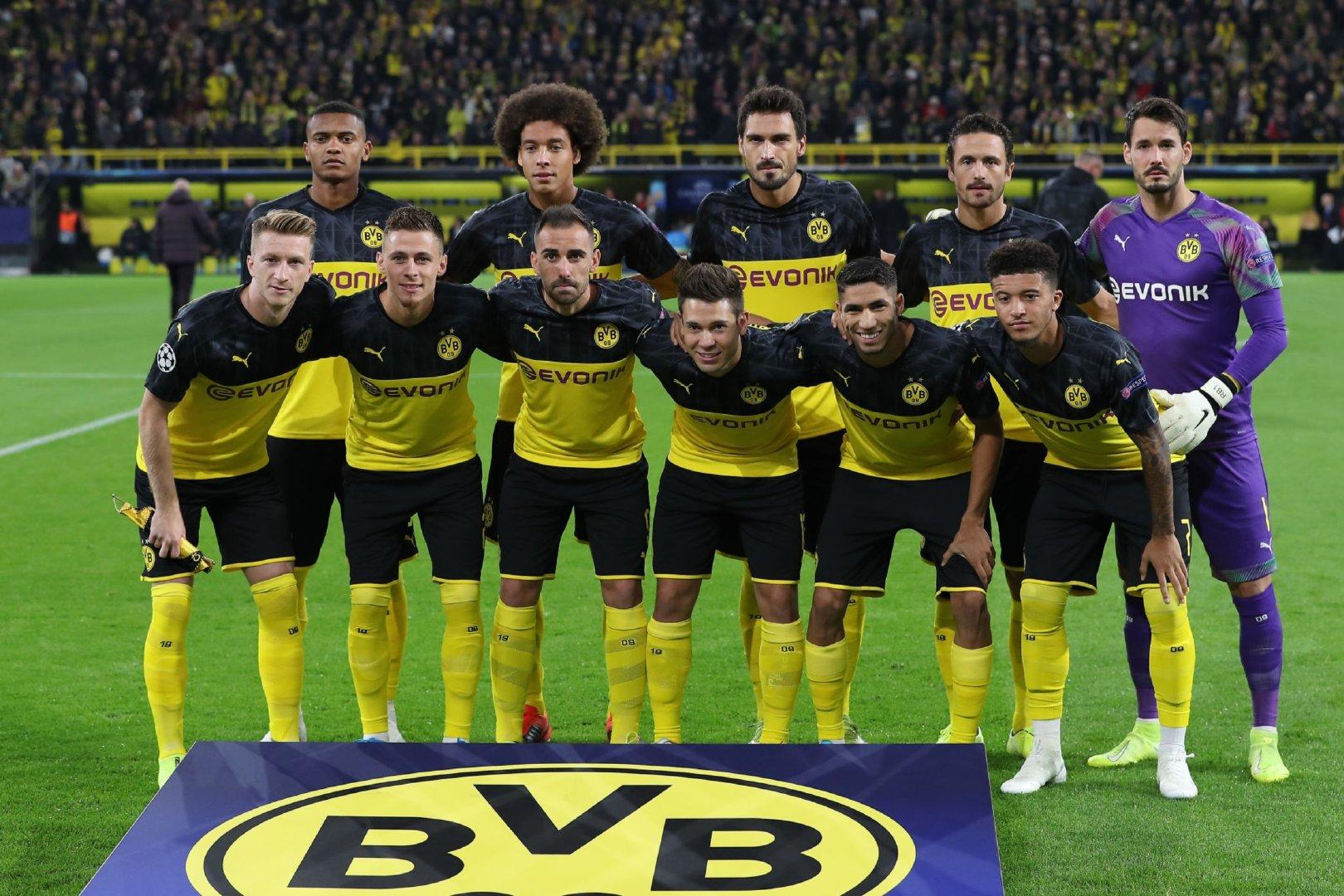 2019-2020赛季欧洲冠军联赛小组赛第1轮:多特蒙德0-0巴塞罗那