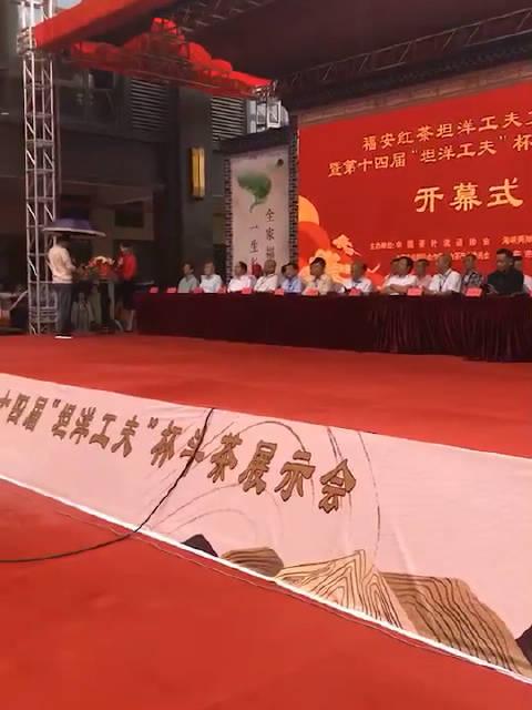 """中国百年红茶""""坦洋工夫""""发祥地福建福安举办斗茶赛"""