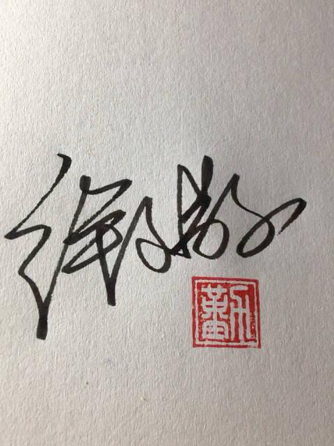 徐文敬同学,你的手写签名设计好了,快来练习