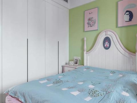 120平三居室,现代简约设计风格,舒适宽敞,温馨居家