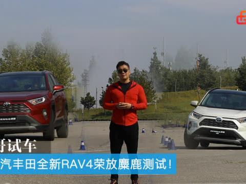 胖哥试车 一汽丰田全新RAV4荣放麋鹿测试!