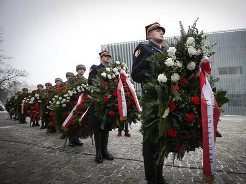 德国纪念奥斯威辛集中营解放75周年
