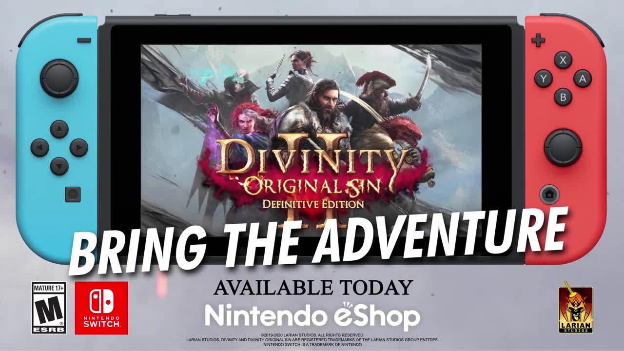 《神界:原罪2 决定版》现已登陆Switch平台。售价49.99美元