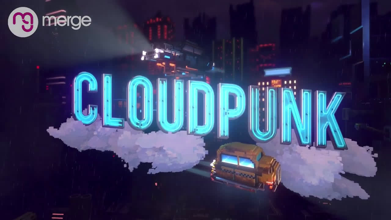 开放世界游戏《Cloudpunk》主机版预告公开