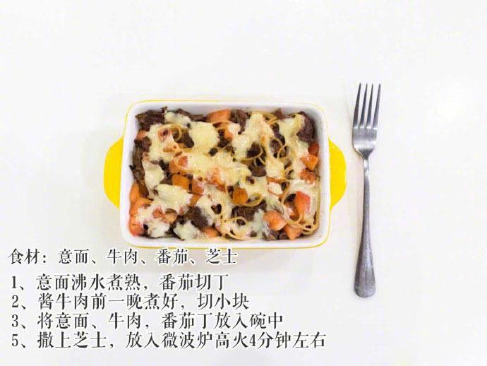 分享的一波微波炉快手减脂餐合集,每天十分钟就能搞定一顿餐
