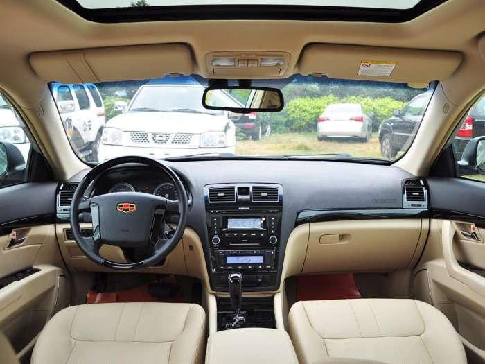 吉利首款B级车, 比迈腾大气, 起步价仅8万