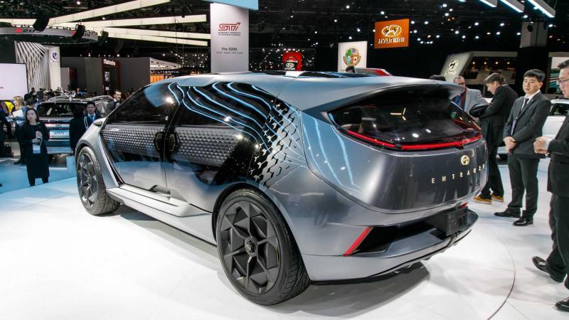 广汽传祺Entranze概念车亮相北美车展 最大续航或达595公里