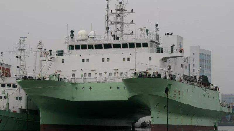 """中国船只海洋作业遭印度无理驱离 印指责:你们搞""""间谍活动"""""""