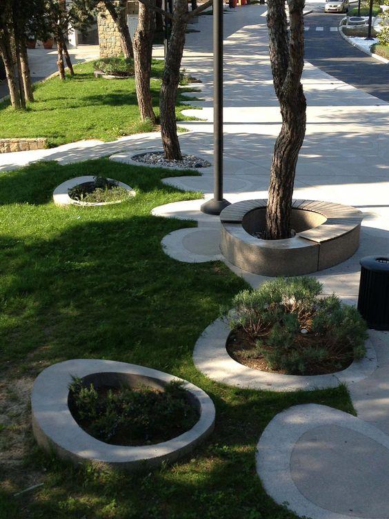 景观创意设计丨树池