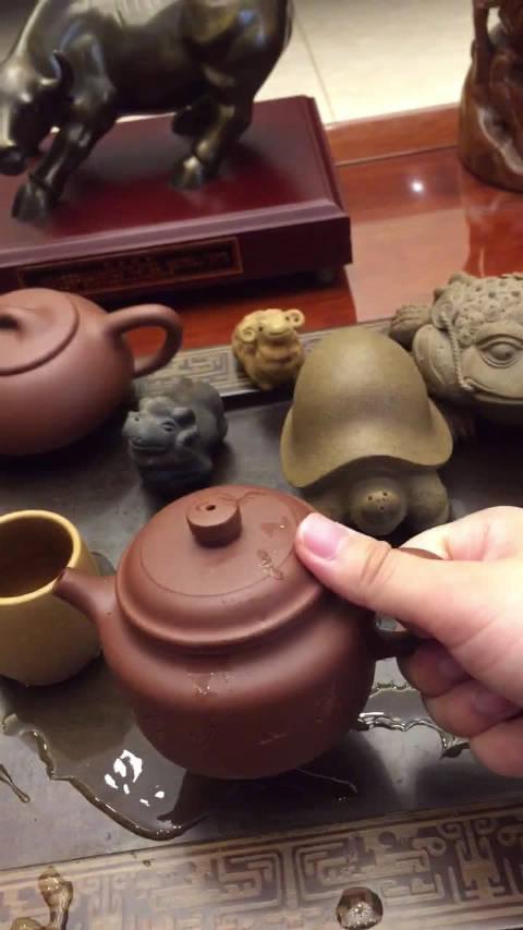国家级工艺美术师吴六君老师最新全手工作品 德钟 采用原矿清水泥高温
