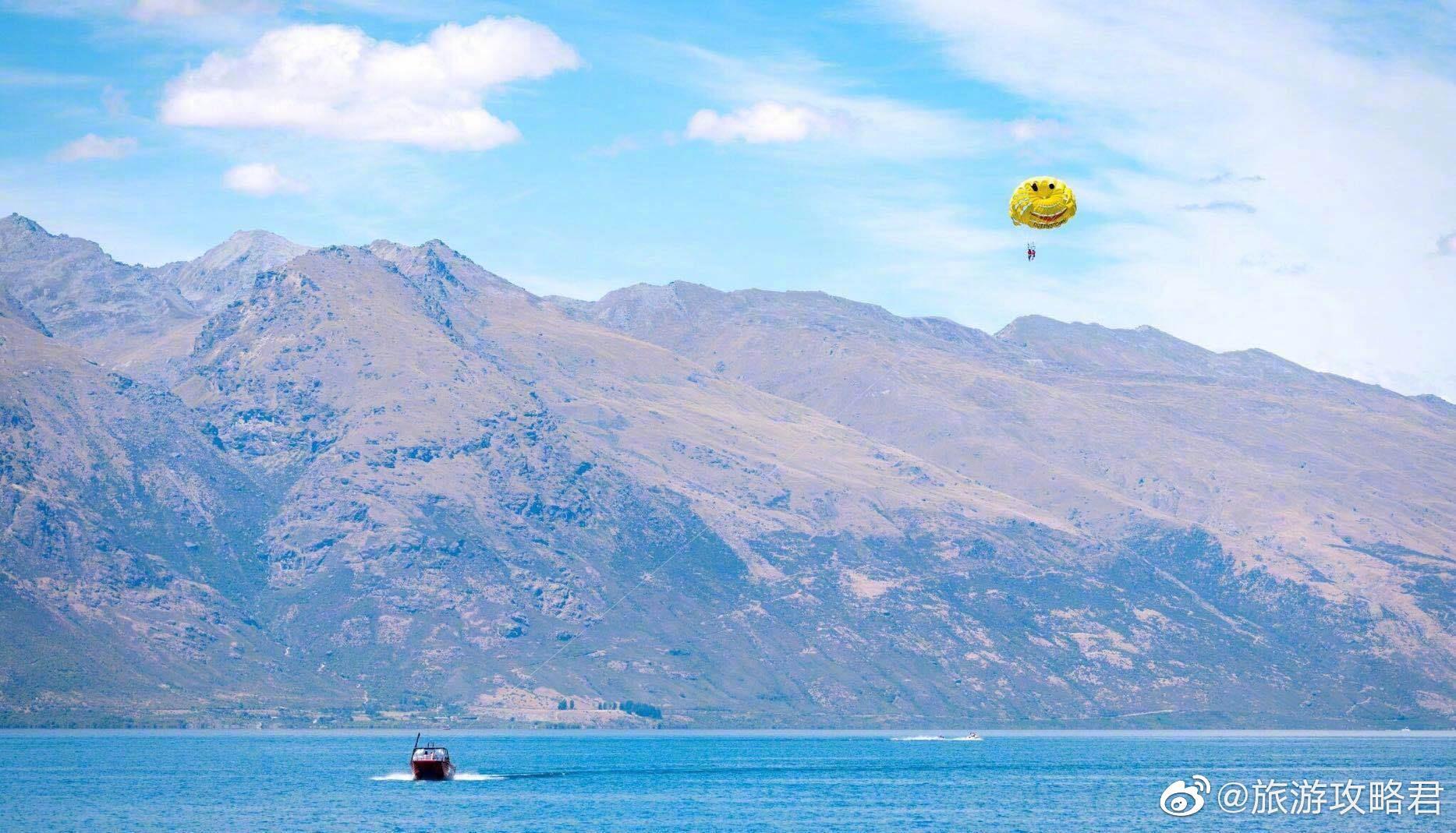 瓦卡蒂普湖丨新西兰第三大湖泊 .