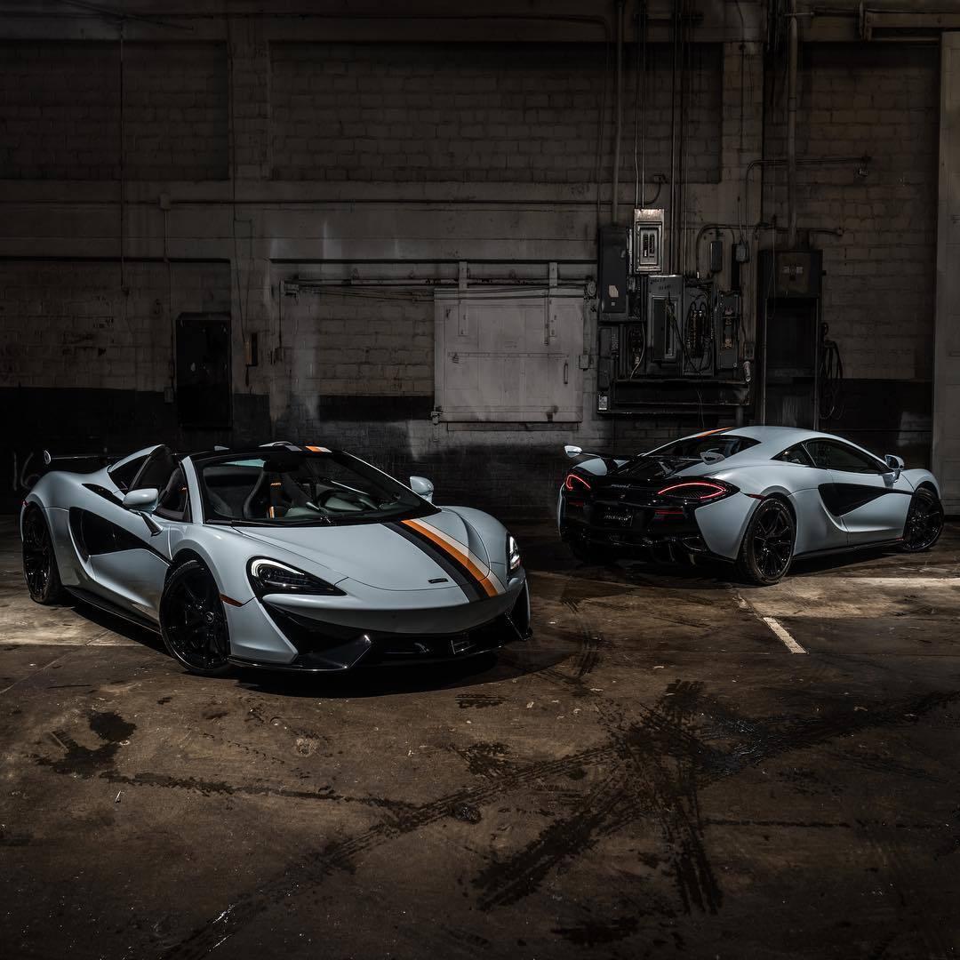 迈凯伦MSO荣誉出品: 570S Coupe & 570S Spider,喜欢哪个?