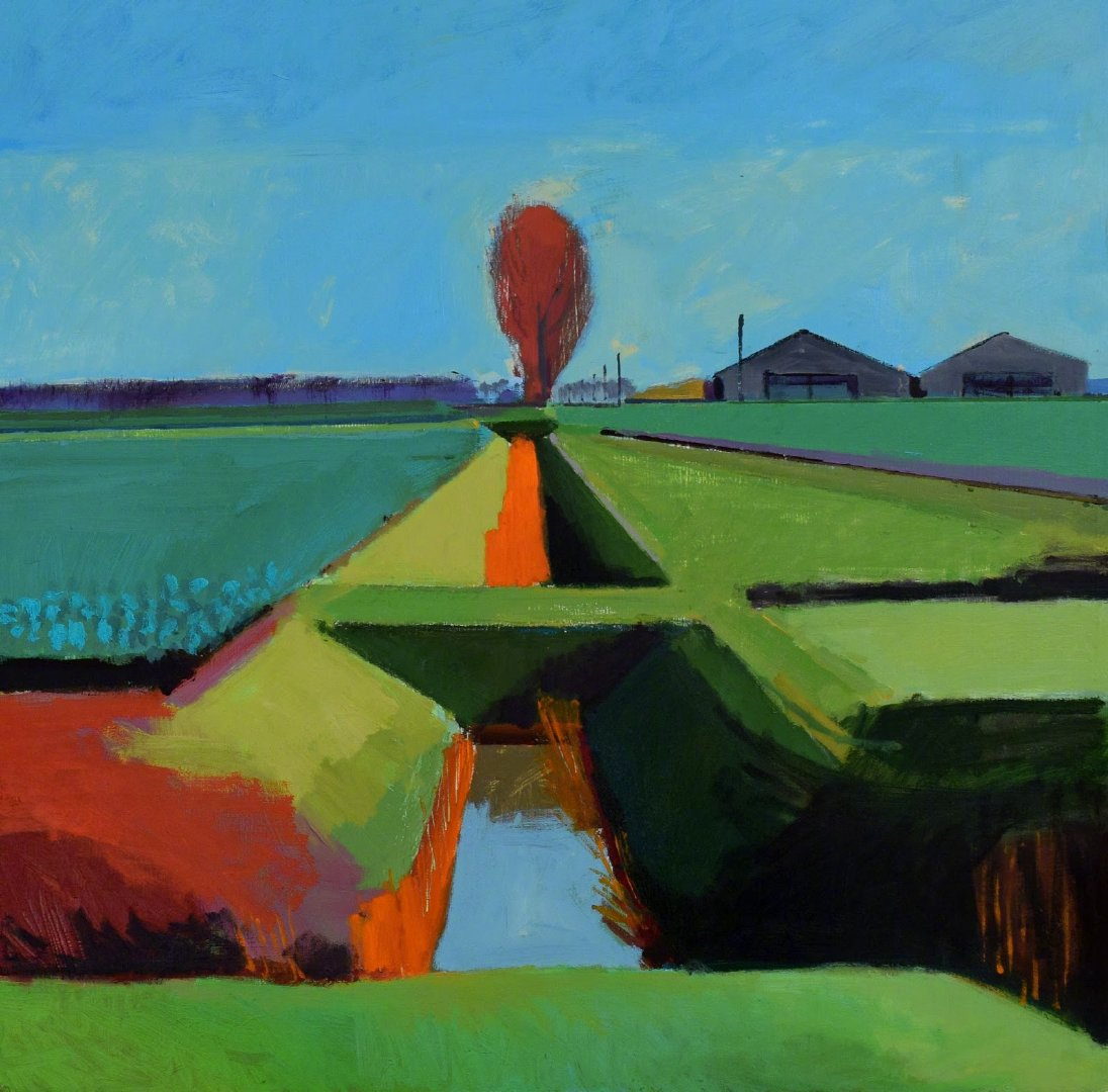 来自画家 Fred Ingrams 绘画作品  |  www.fredingrams.com