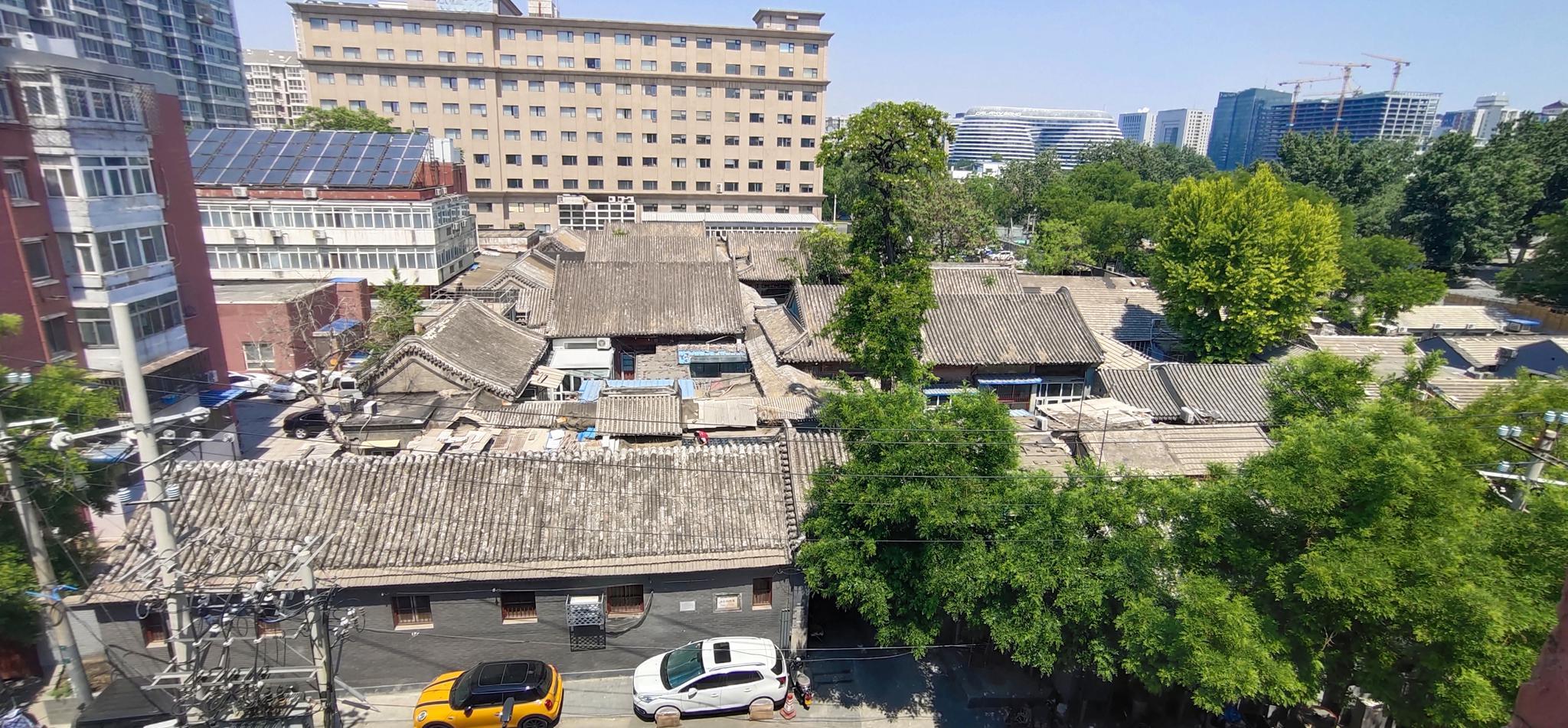 赵堂子胡同3号,朱启钤故居,东城区区保文物,现为外交部宿舍。