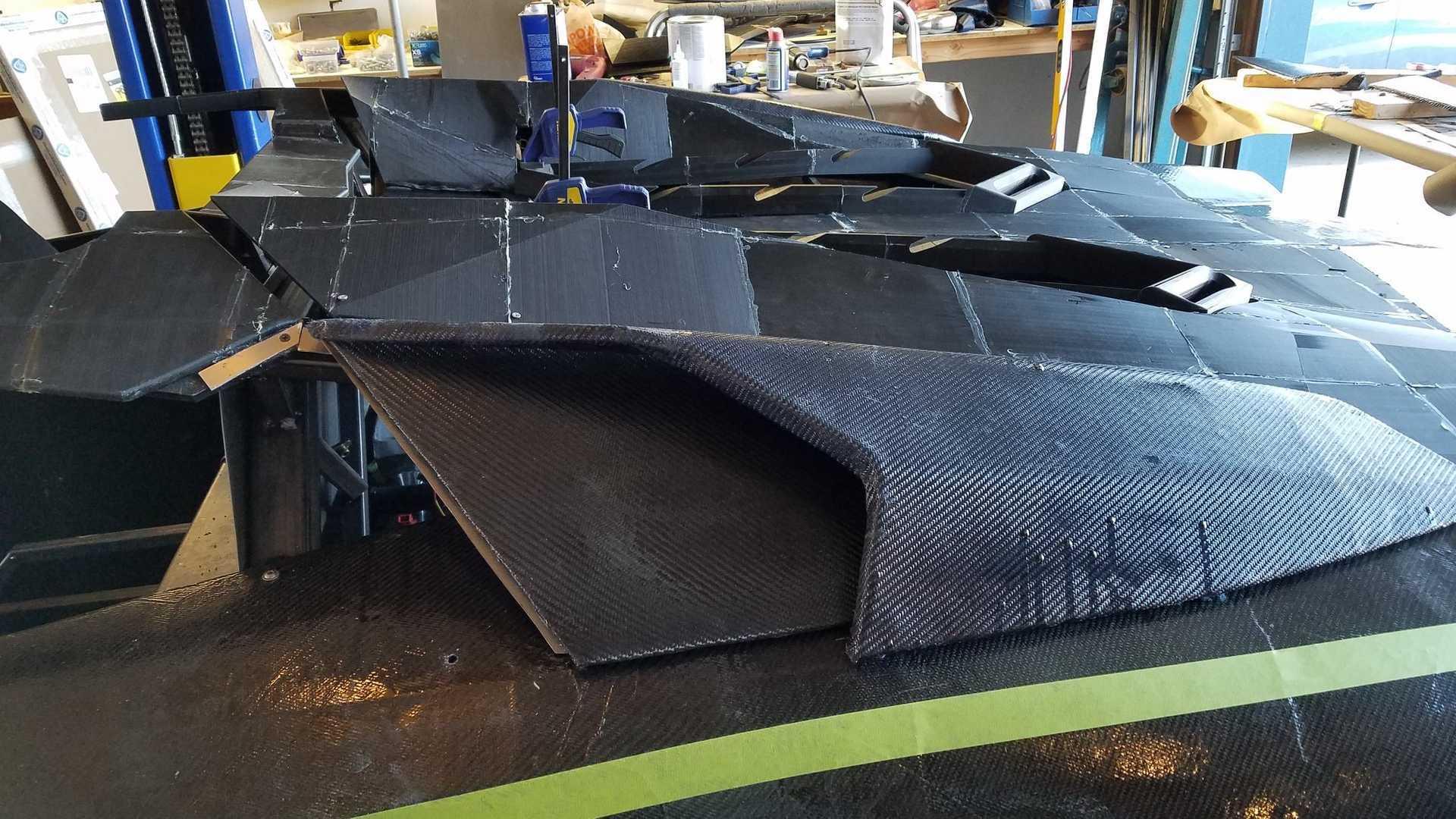 科技狂人的杰作!3D打印兰博基尼Aventador