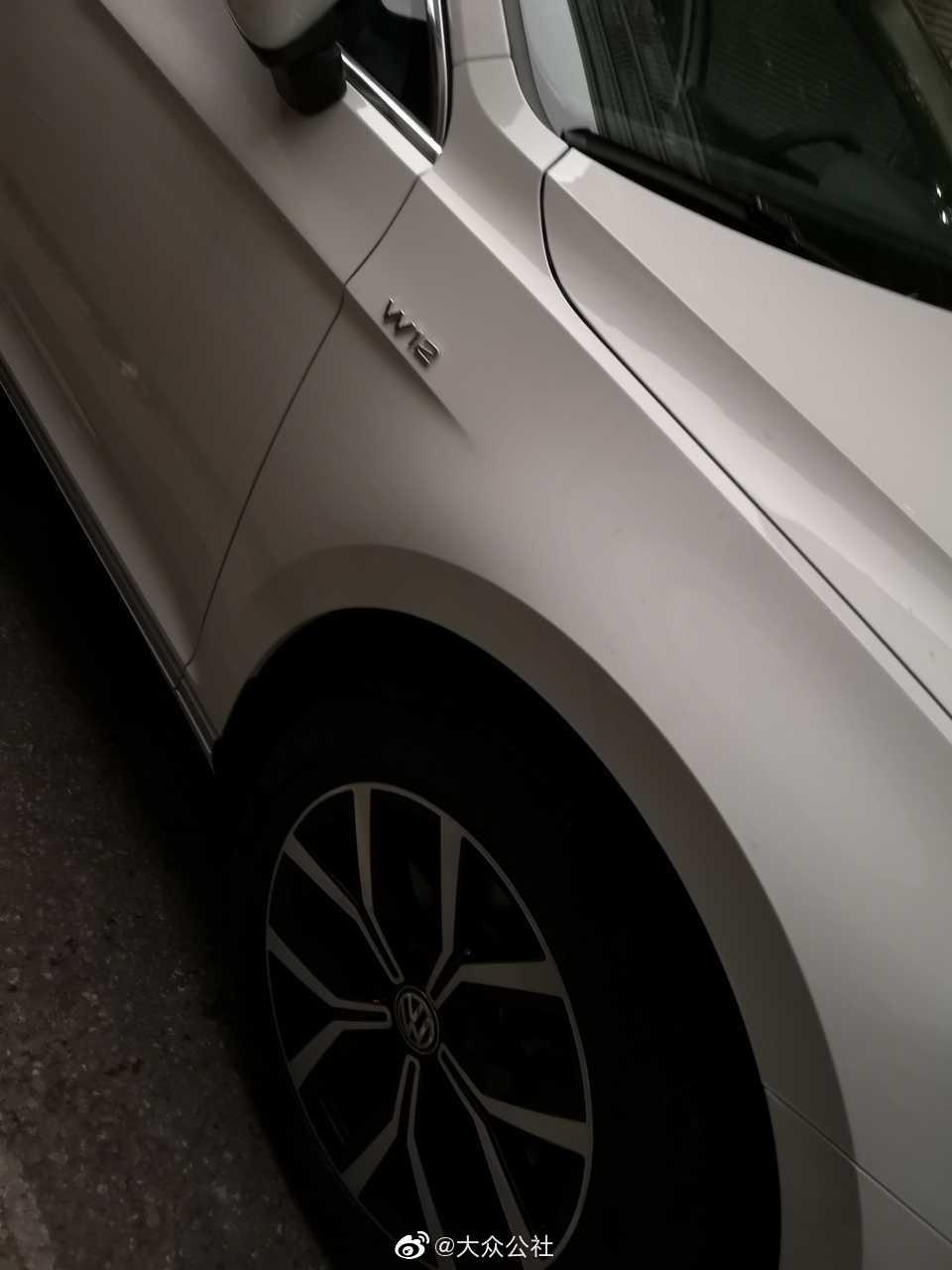 W12?大众新款高性能车??