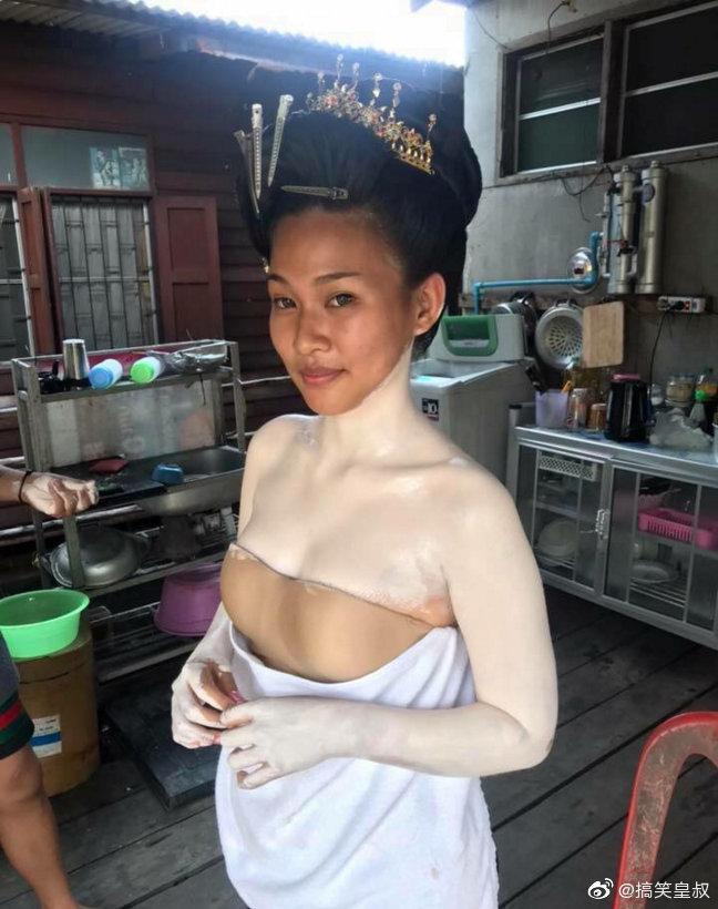 泰国的化妆技术真是让人不得不服~
