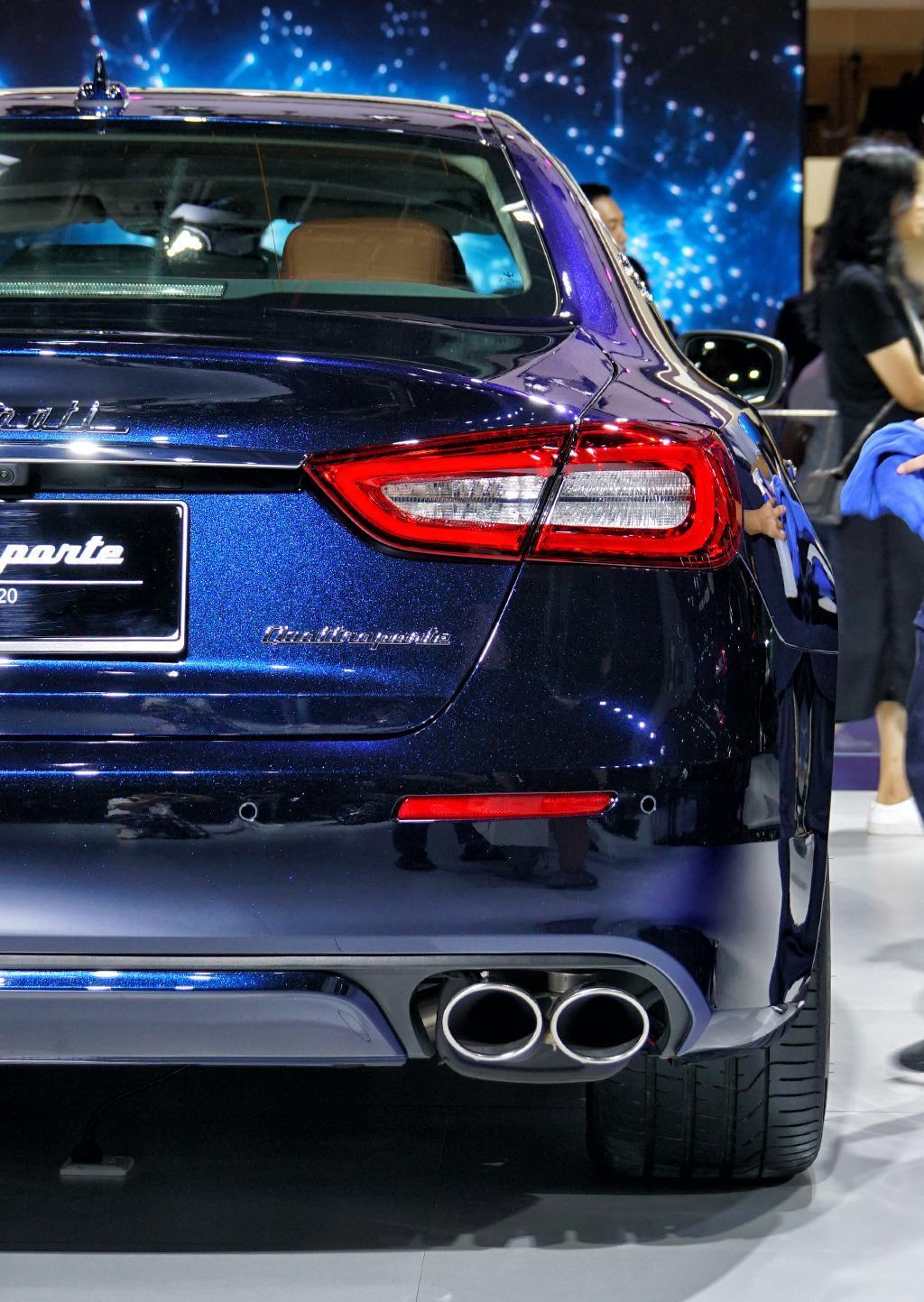 售价156.54万,全球只有20辆,玛莎拉蒂发布总裁尊贵蓝全球限量版
