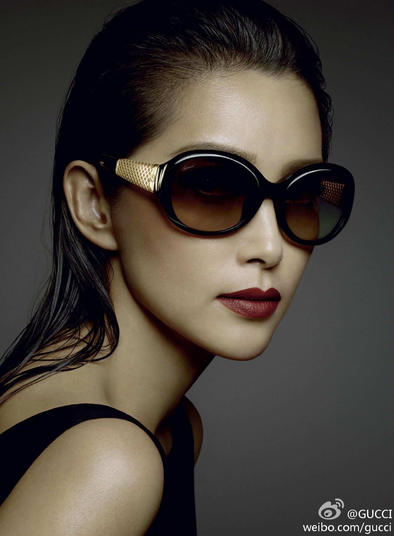 Advertising campaign   Gucci✖️眼镜系列李冰冰、全智贤、倪妮拍