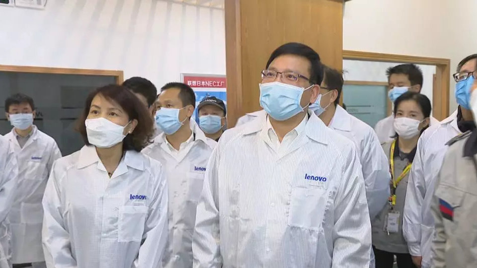 陈如桂检查督导疫情防控和复工复产