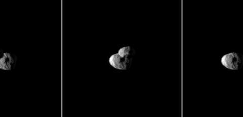 组图:这些从土星及其卫星们拍摄的照片,颠覆你之前对土星的印象