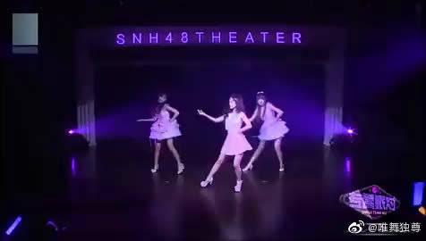 鞠婧祎跳舞很俏皮灵动,难怪这么圈粉,SNH48你喜欢谁?@微博舞蹈