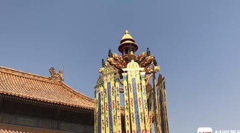 拍出800万的万寿灯将结束故宫旅程