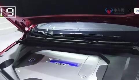 海口国际新能源汽车展实拍最有潜力车型北汽EU5