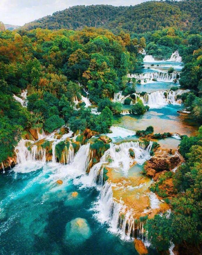 克罗地亚十六湖国家公园,做梦都想去的美景地。