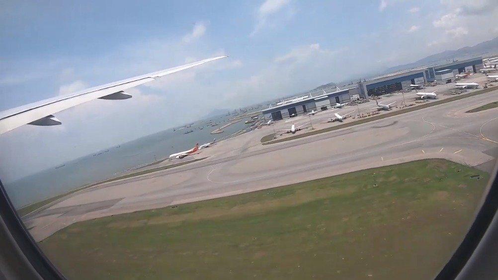 俄罗斯航空公司波音777-300 | 香港 - 莫斯科SVO