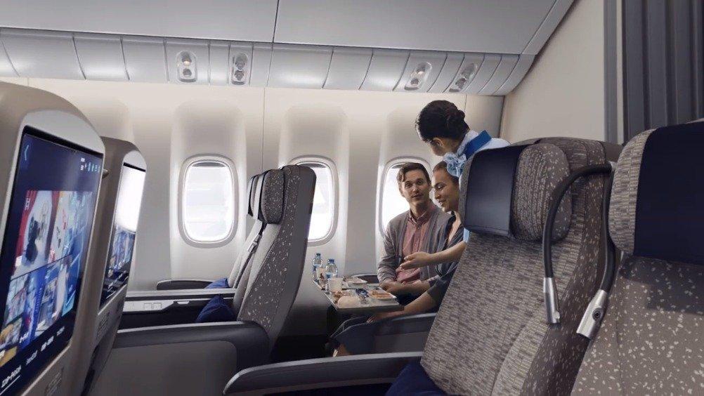 """""""当东方与西方设计发生碰撞时""""@全日空航空_ANA 全新推出New Luxury"""