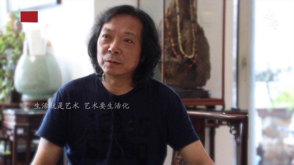 汪家芳:上海画家画《上海》