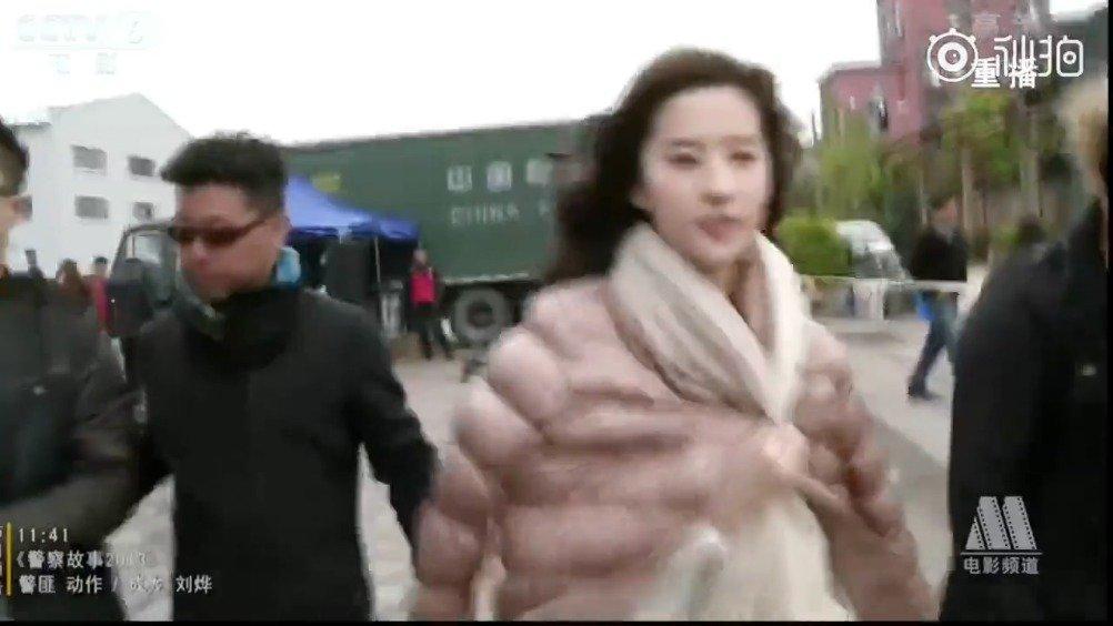 央视镜头下都这么美对于刘亦菲,永远是真人>视频>动图>静图