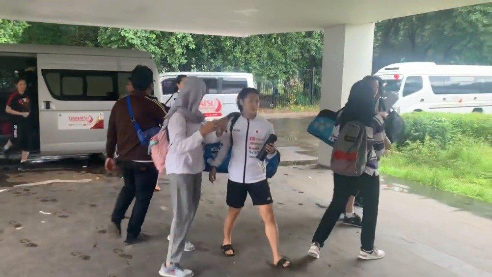 印尼球迷与日本女队