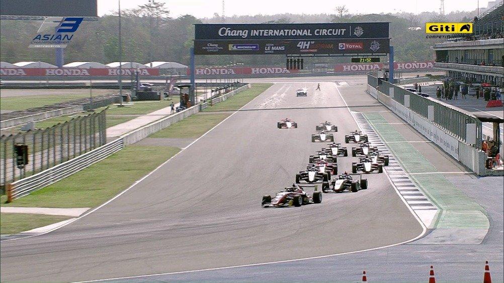 2020亚洲F3锦标赛第14回合集锦
