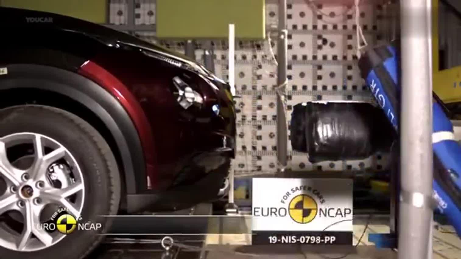 2020款日产Juke汽车碰撞试验(使用  录制)