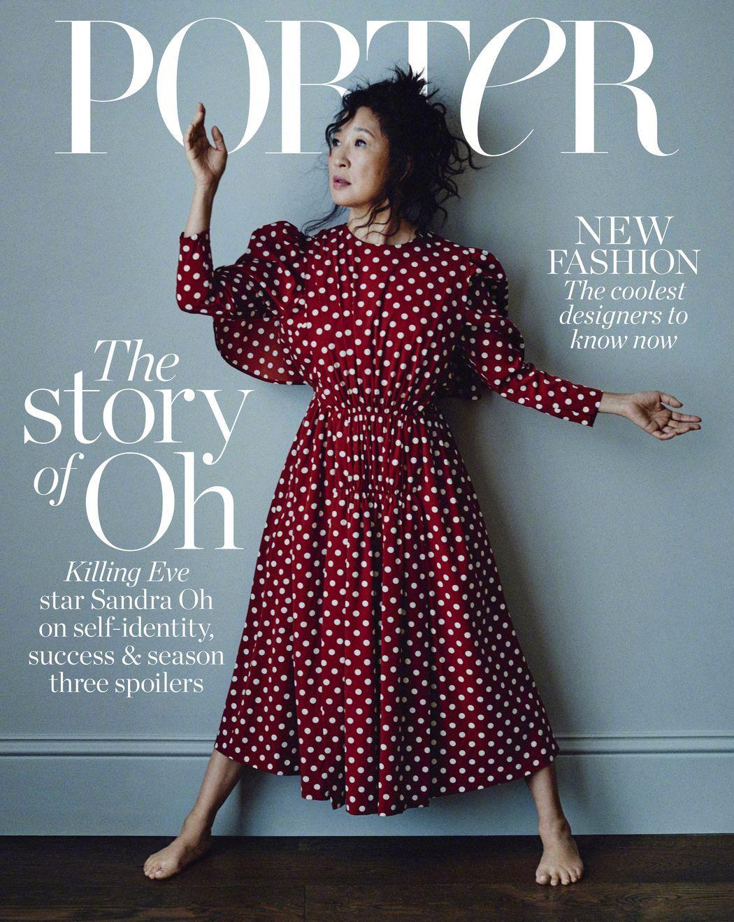 """吴珊卓为""""Porter Edit""""杂志10月刊拍摄的新大片,率性利落"""