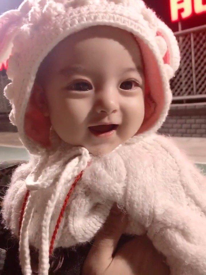 这是天使生的宝宝吧