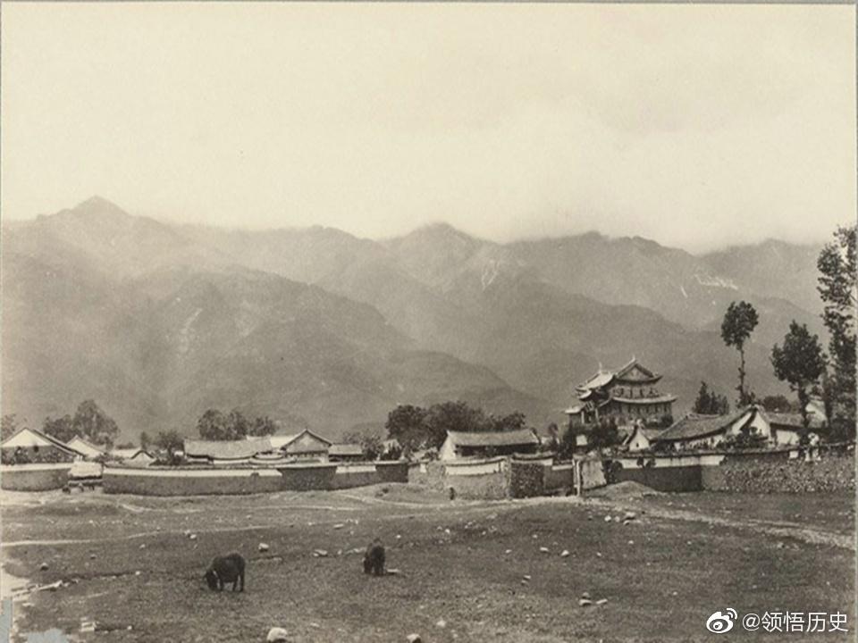 1932年的云南大理,都是古建筑仿佛回到古代