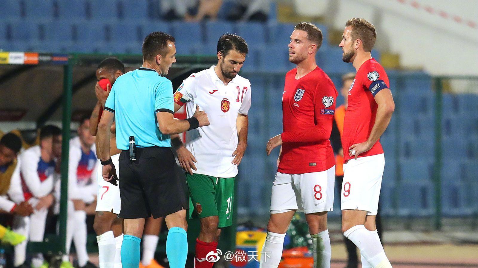 种族歧视致英格兰和保加利亚球赛中断两次 保加利亚主帅
